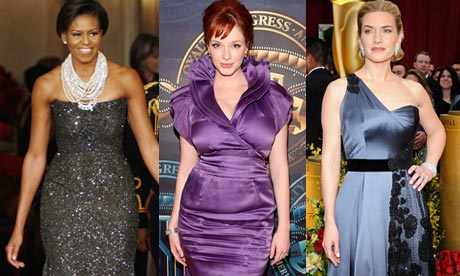 Michelle Obama, Christina Hendricks and Kate Winslet