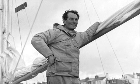 Donald Crowhurst on board the Teignmouth Electron