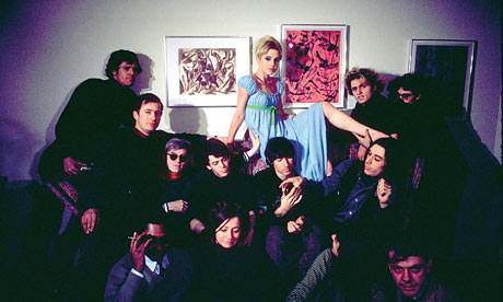 Edie Sedgwick and the Factory crew