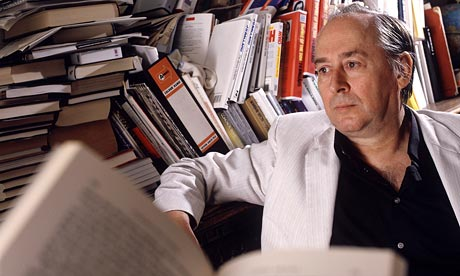 J.G. Ballard at home in 1987