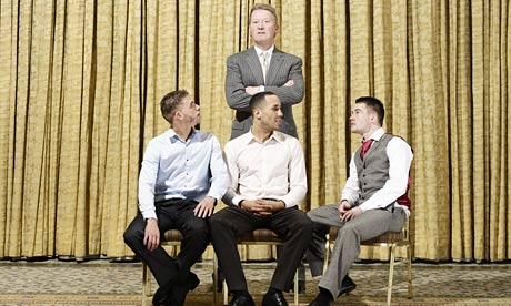Frank Warren and his fighters