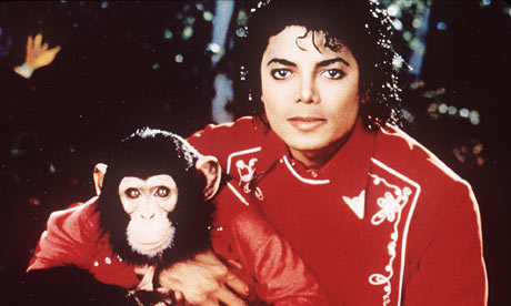 Michael Jackson with Bubbles