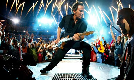 Bruce Springsteen at the Super Bowl
