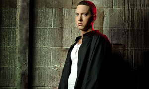 Eminem in Los Angeles, April 2009