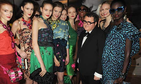 Alber Elbaz at the Lanvin launch party