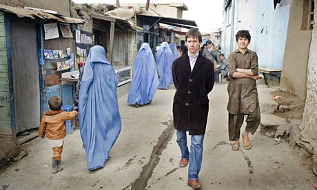 kabul city. Rory Stewart in Kabul