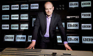 Mark Thompson at the BBC Studios