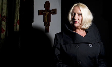Martina Cole at home in Kent
