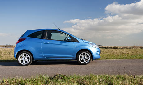 The 2009 Ford Ka. Photograph: James Royall