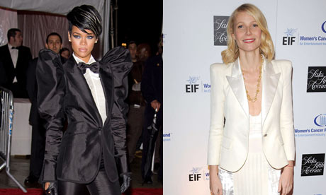 Rhianna and Gwyneth Paltrow