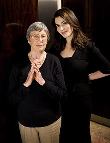 Nigella Lawson and Anna Del Conte