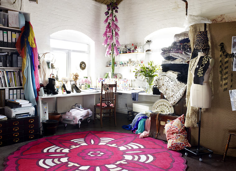 My Space Alice Temperley Fashion Designer Life And Style The Guardian