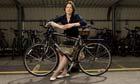 Stephanie Flanders and bike