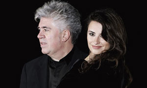 Director Pedro Almodovar and actor Penelope Cruz