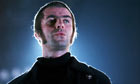 Liam Gallagher on stage 2009