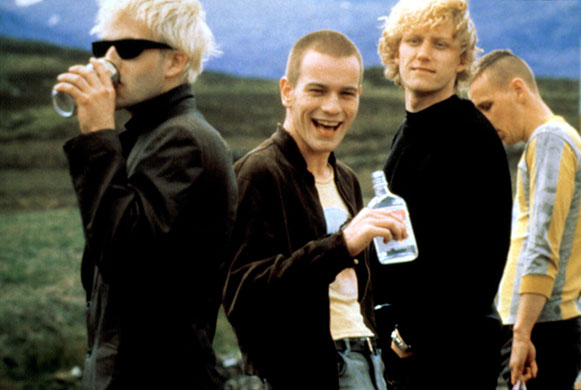 is 'trainspotting' uk 1996 an irresponsible So i went to see trainspotting at my local art cinema today when they introduced the film they said the title is an example of a useless activity.