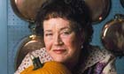 Julia Child at home