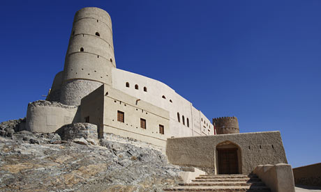 the adobe fort at Bahla, Oman