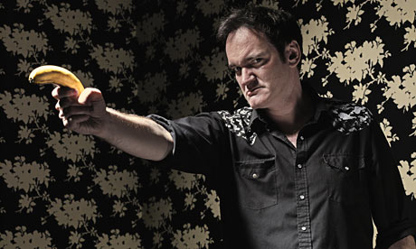 Quentin Tarantino and banana