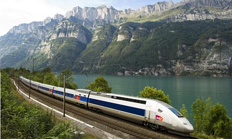 A TGV Lyria in Switzerland