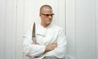 Heston Blumenthal in his kitchen laboratory
