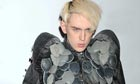 Patrick Wolf in his leather vulture cape