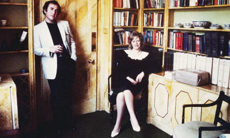 Harold Pinter and Antonia Fraser at 52 Campden Hill Square.