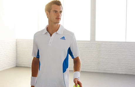 andy murray tennis player. Andy Murray adidas launch
