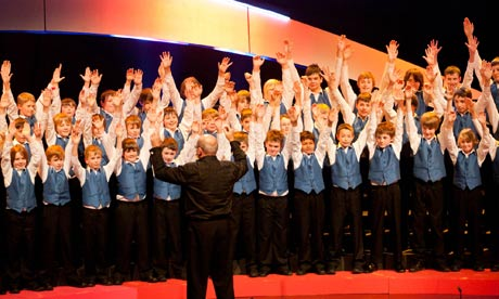 warwickshire county boys' choir