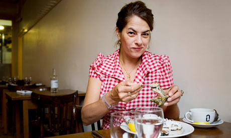 Tracey Emin at St John Bread and Wine