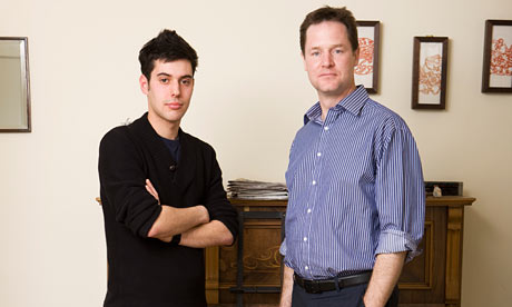 Daniel Fenton and Nick Clegg
