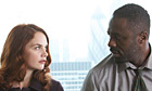 Ruth Wilson and Idris Elba in Luther