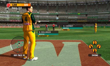 Screens Zimmer 8 angezeig: cricket games 2010