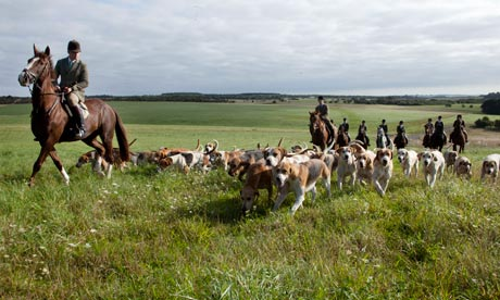 foxhunting tedworth