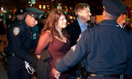 naomi wolf arrest