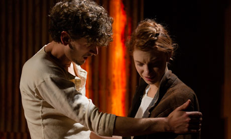 Hasan Dixon and Ty Glaser in Yerma