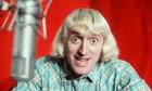 jimmy Savile at microphone