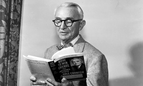 Dale Carnegie swatting up on his SEO skills...