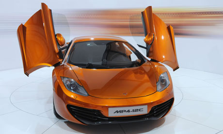 McLarens supercar: pity the poor RAC repairman in the digital driving age