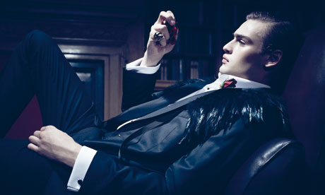 Douglas Booth as Dorian Gray