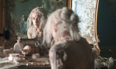 Gillian Anderson as Miss Havisham in Great Expectations.