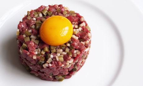 Nigel Slater's classic steak tartare | Life and style | The Guardian