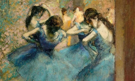 Dancers in Blue