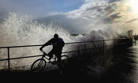 Huge Storm Surge Threatens Britain's Flood Defences