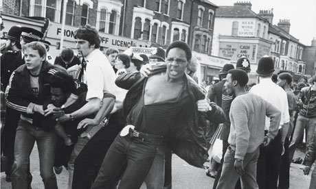 When Brixton Went Up In Flames Uk News The Guardian