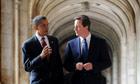 Barack Obama visits the UK