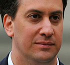 Britain's Labour party opposition leader Ed Miliband