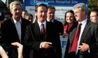 David Cameron visits Chase Farm Hospital