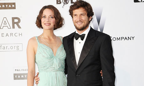 Guillaume Canet with Girlfriend