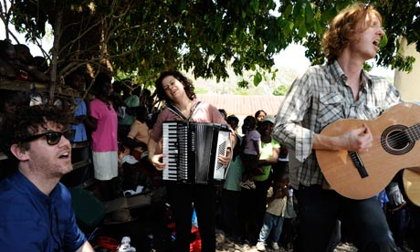 Arcade Fire in Haiti